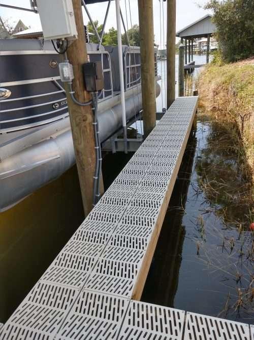dock and decks marine contractor composite decking fairhope