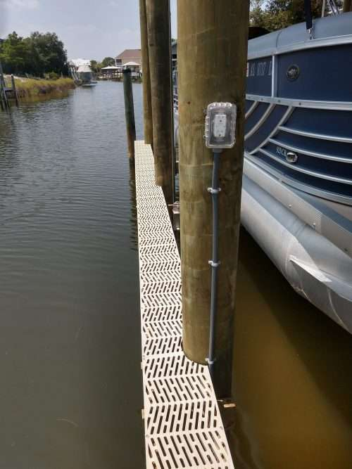 dock and decks marine contractor composite decking foley