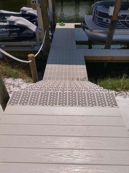 Sure Step Composite Decking Dock And Decks Orange
